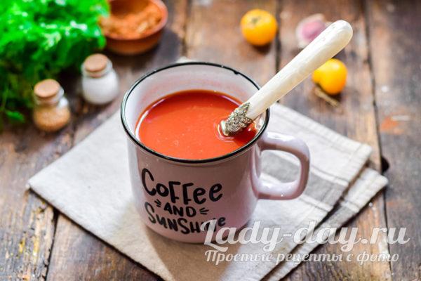 томатаная паста с водой