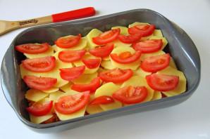 Тунец с картошкой в духовке - фото шаг 7