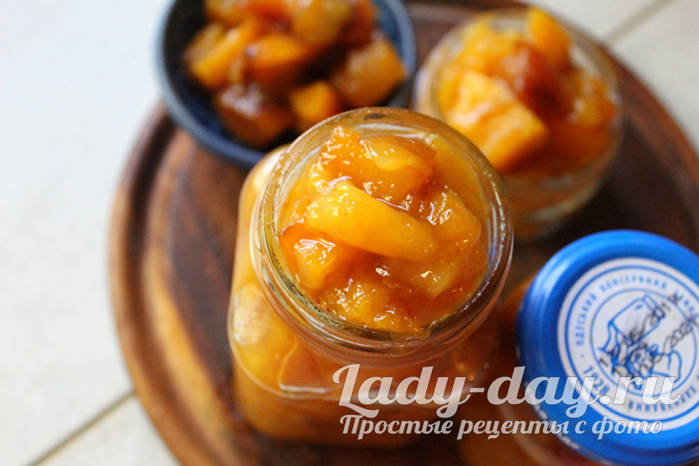 Варенье из тыквы и манго