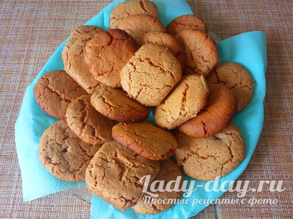 печенье с медом и корицей
