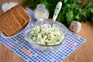 Закуска из творога с зеленью - фото шаг 6