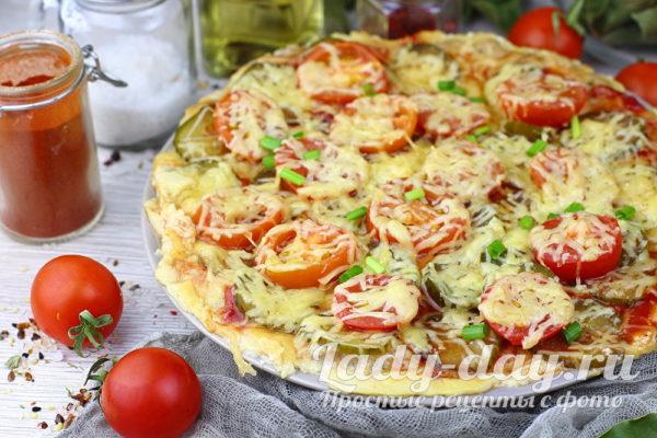 пицца из фарша