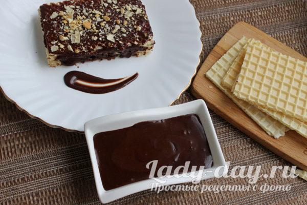 Шоколадный ганаш для покрытия торта,