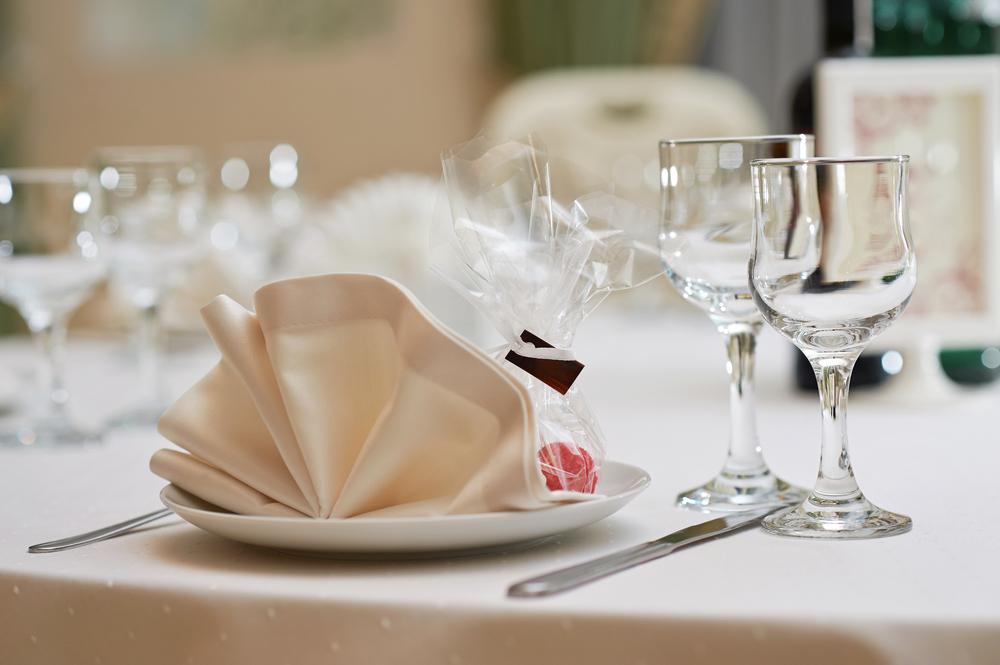 Тарелка с комплиментом для гостей
