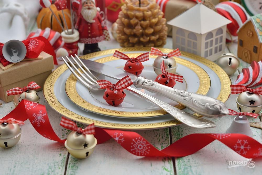 Посуда для новогоднего стола