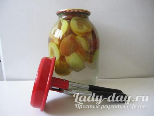 парить фрукты