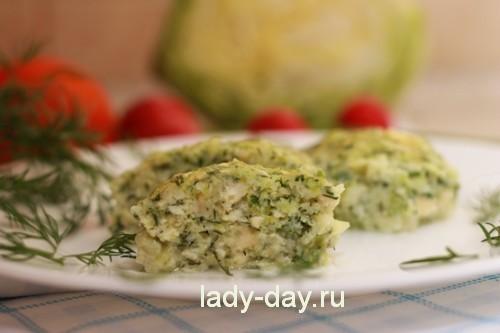 Котлеты из капусты, самый вкусный рецепт