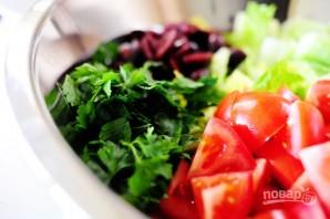 Греческий салат - фото шаг 10