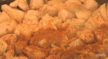 Курица с карри и кокосовым молоком - фото шаг 2