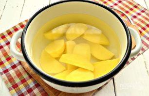 Начинка для пирожков из картошки и яиц - фото шаг 2
