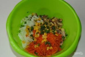 Салат из шампиньонов маринованных - фото шаг 3
