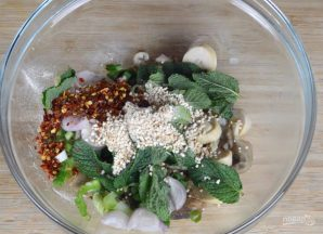 Салат с грибами - фото шаг 2