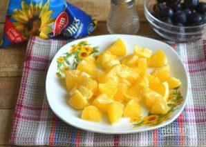 Салат с курицей, авокадо и киви - фото шаг 4
