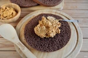 Шоколадный торт с орехами - фото шаг 11