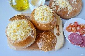 Булочки, фаршированные омлетом, на завтрак - фото шаг 8