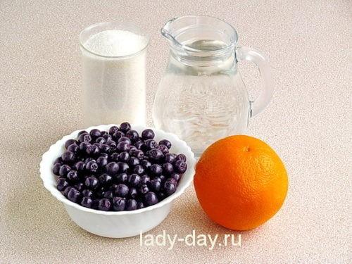 рябина и апельсин