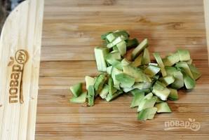Кармашки из хлеба с креветками - фото шаг 4