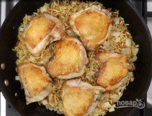 Курица с макаронами по-гречески - фото шаг 7