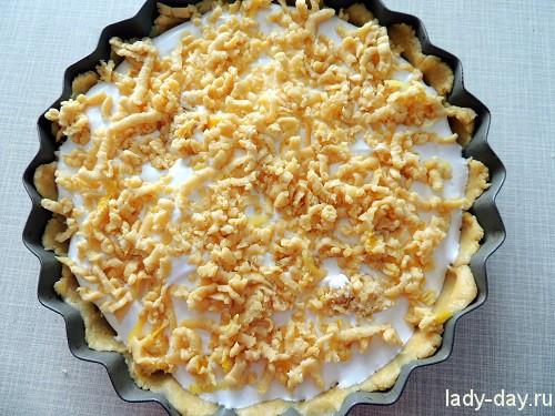 Яблочный пирог, рецепт с фото