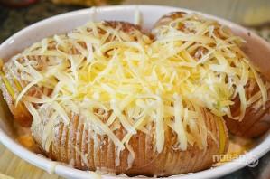 Чипсы из картофеля в мундире с дипом - фото шаг 5