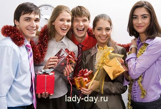 Новый год с коллективом