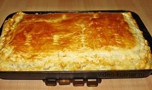 Простые рецепты вкусных пирогов