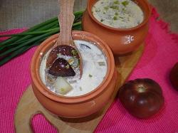 Вкусное первое блюдо их национальной белорусской кухни