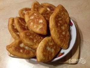 Дрожжевые пирожки с картофельной начинкой - фото шаг 14