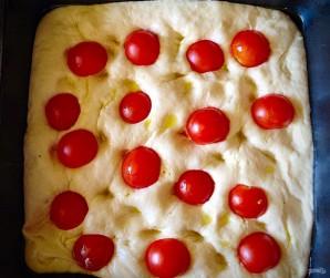 Фокачча с помидорами черри - фото шаг 4
