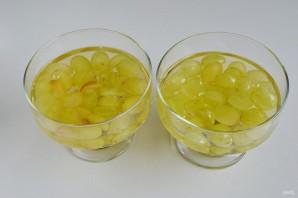Виноградно-йогуртовое желе - фото шаг 6