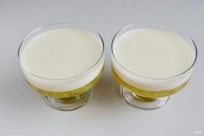 Виноградно-йогуртовое желе - фото шаг 9