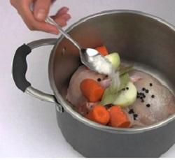 Вкусный рецепт куриного супа