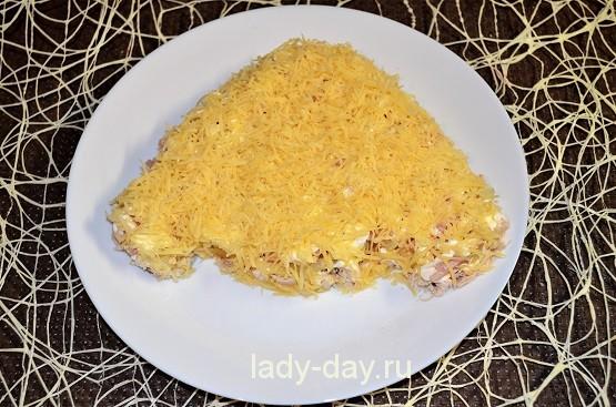 5й слой сыр