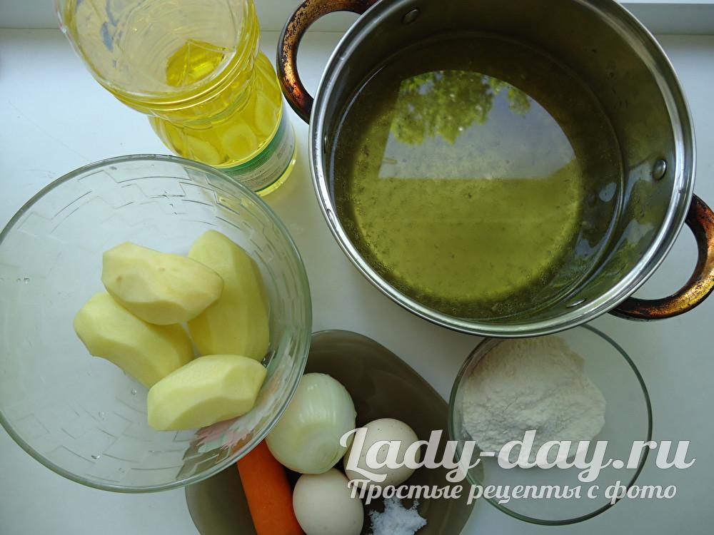 как приготовить суп с клёцками