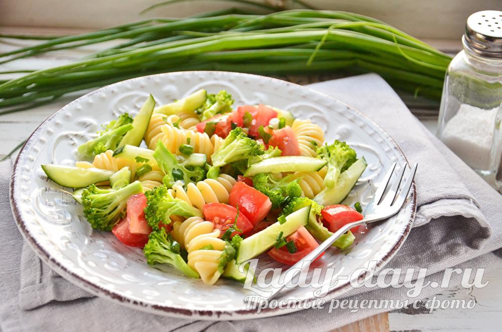 салат с макаронами рецепт с фото очень вкусный