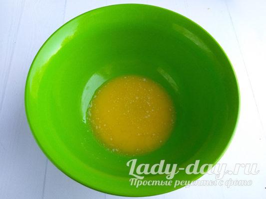 растопленной сливочное масло