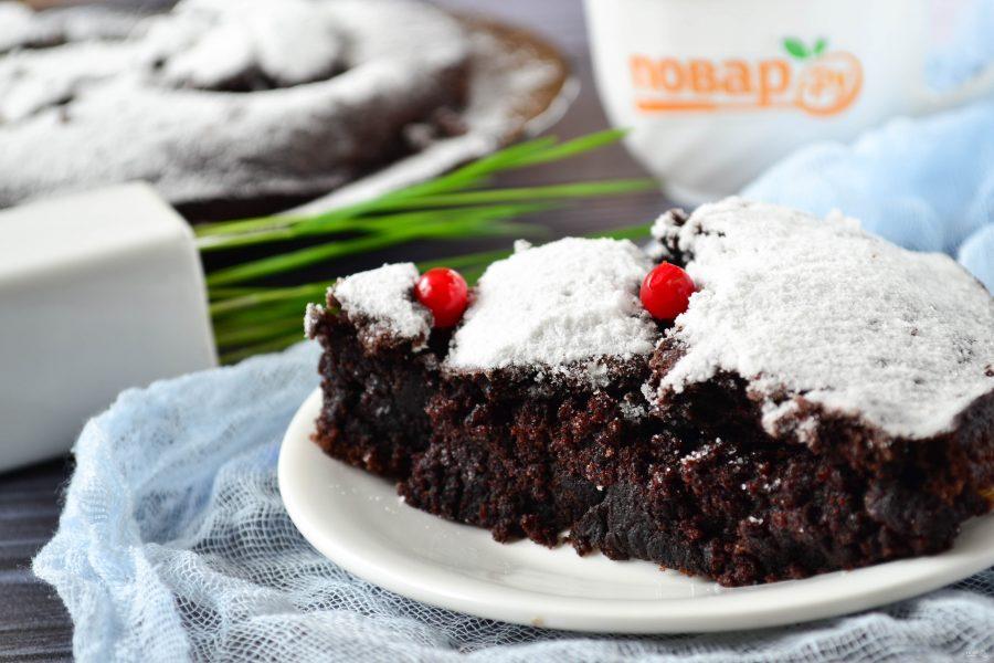 Простой шоколадный пирог
