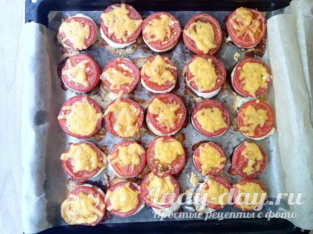 Баклажаны с помидорами и сыром в духовке, рецепт с фото пошагово