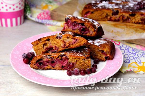 Медовый пирог - простой рецепт в духовке