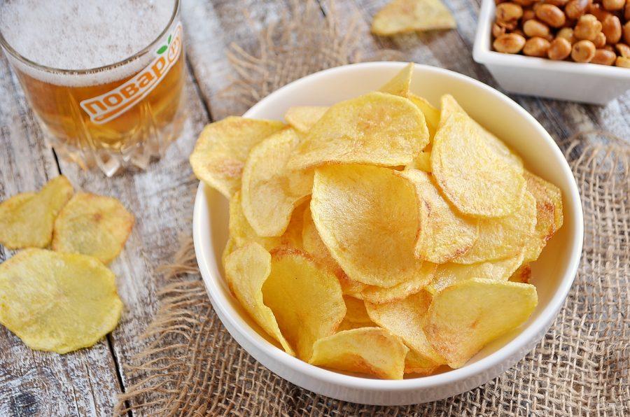 Классические картофельные чипсы