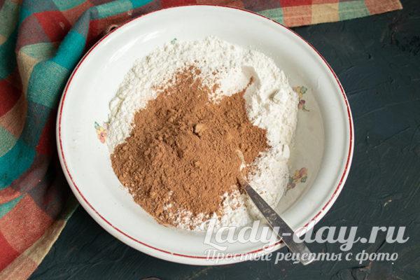 мука и какао