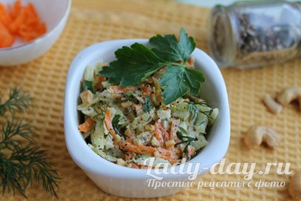 Салат из зеленой редьки рецепты с фото простой и вкусный
