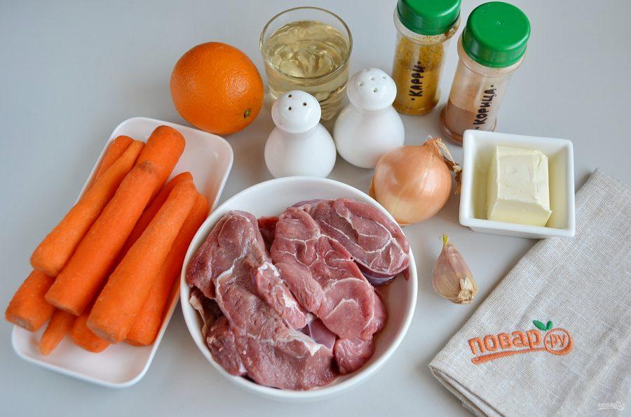 Ингредиенты для томленной говядины