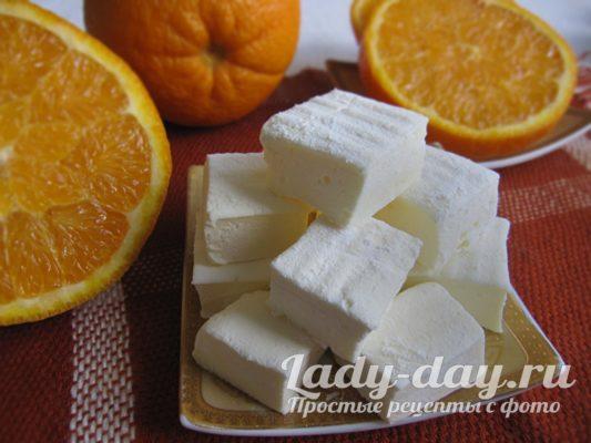 зефир в домашних условиях рецепт с фото пошагово с желатином