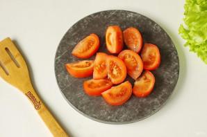 Салат с куриной печенью без майонеза - фото шаг 5