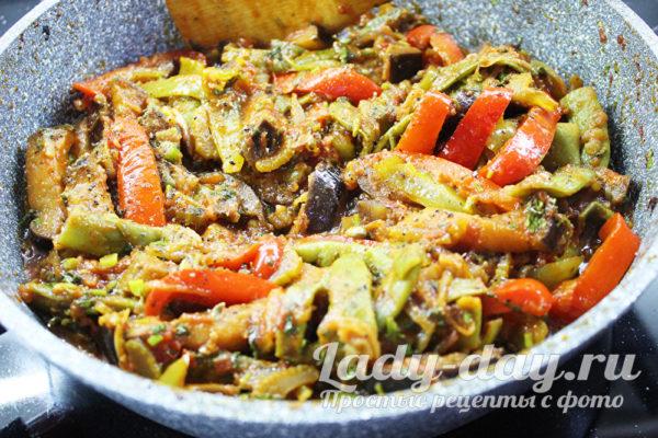тушеныке овощи