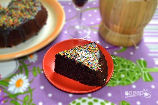 Винный шоколадный пирог