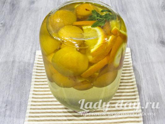 компот абрикосовый