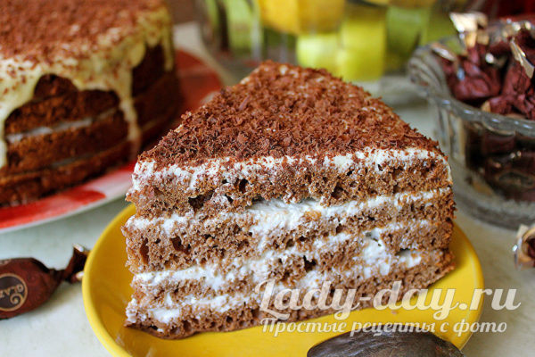 ленивый торт спартак