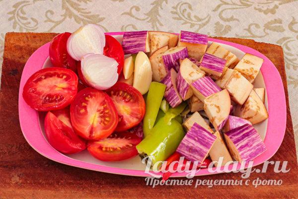 почистить овощи